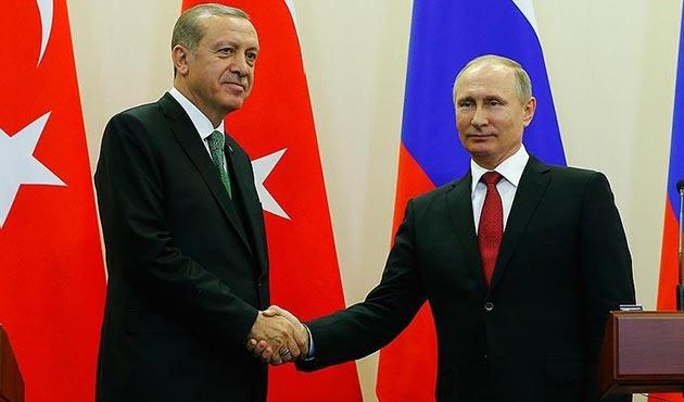 Erdoğan - Putin görüşmesinde 'Doğu Guta' ele alındı