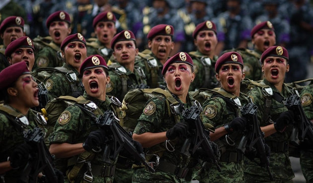 Meksika'da orduya polis yetkisi verildi