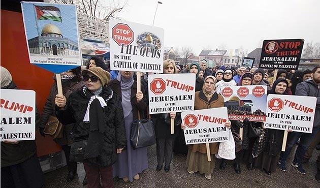 Sırbistan ve Bosna Hersek'ten Filistin'e destek