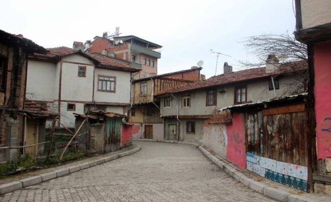 Taşköprü'de tarihi sokaklarda restorasyon
