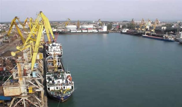 Gürcistan'da Anaklia Derin Deniz Limanı'nın temeli atıldı