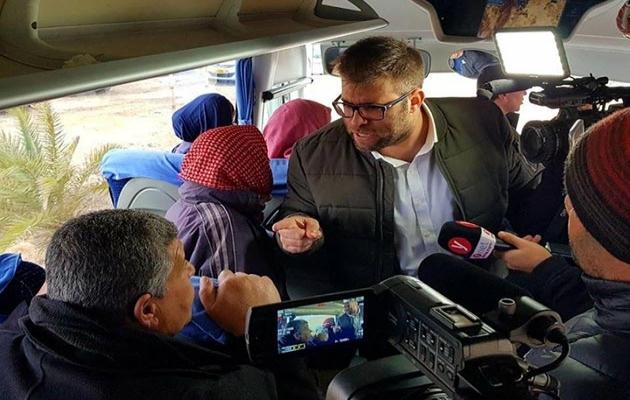 İsrailli zorba milletvekili Hazan'a takviye koruma