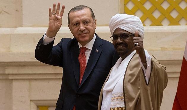 Cumhurbaşkanı Erdoğan ve El Beşir'den ortak bildiri