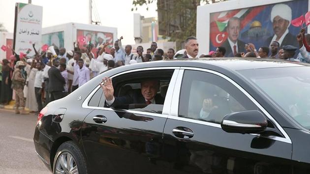 Cumhurbaşkanı Erdoğan'ın Sudan ziyareti manşetlerde