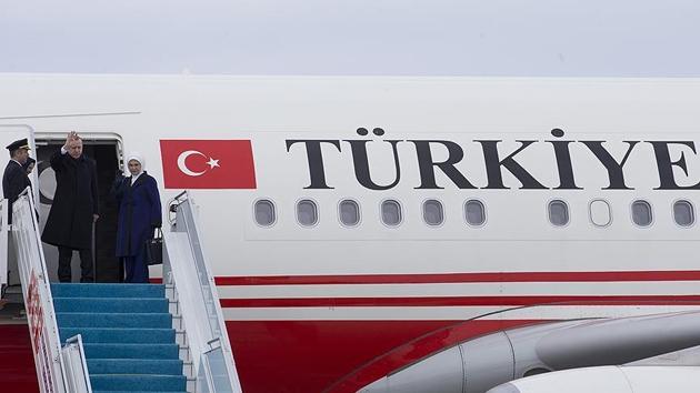 Cumhurbaşkanı Erdoğan Çad'a gitti