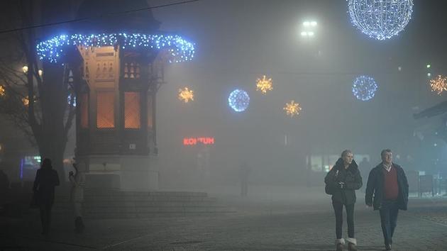 Saraybosna'da hava kirliliği alarm veriyor