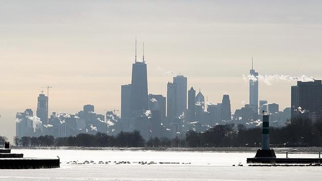 Chicago'da 'dondurucu soğuk' alarmı