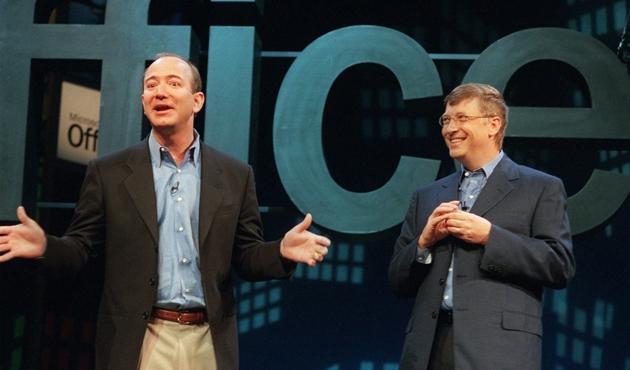 Jeff Bezos, Bill Gates'in 4 yıllık unvanını elinden aldı