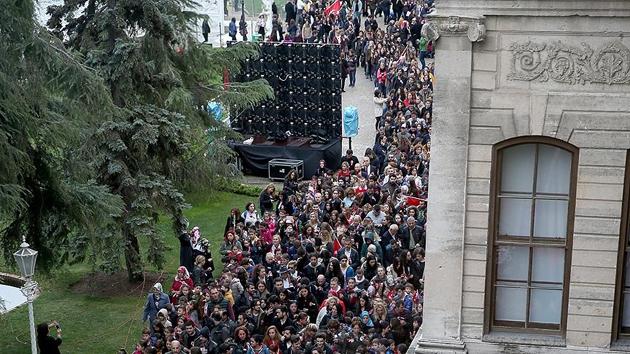 Milli Saraylar'ı 2017'de 1 milyon 100 bin kişi gezdi