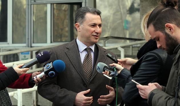Gruevski'nin davası 2 Şubat'a ertelendi