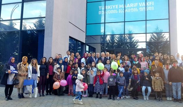 Tiflis'teki TMV okulunda ilk karne heyecanı