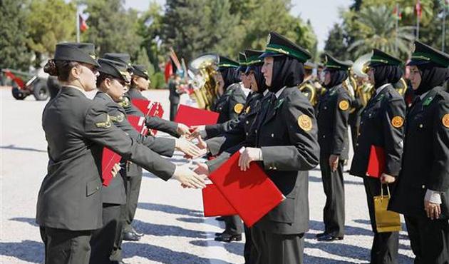Afgan kadın subaylara TSK'den eğitim