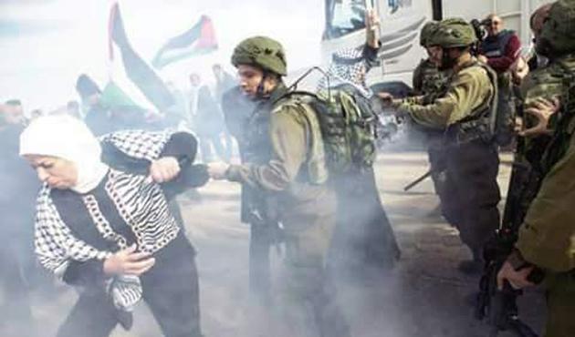 Filistin'deki gösterilere müdahale