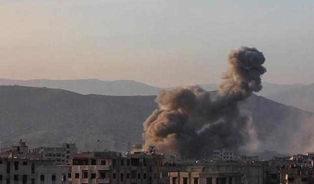 Esad rejimi Doğu Guta'ya saldırılarını yoğunlaşırdı