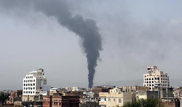 Koalisyon güçlerinden Yemen'e hava saldırısı: 20 Husi öldü