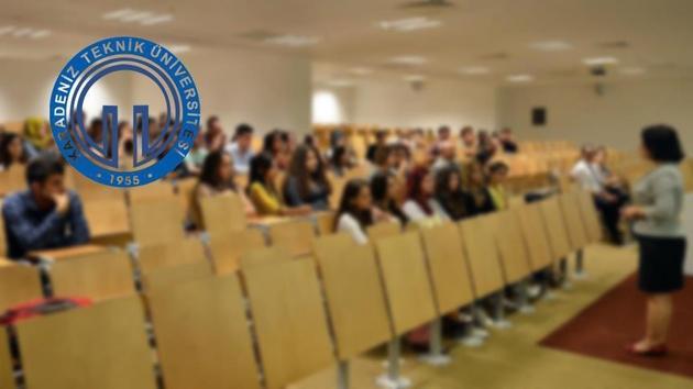Karadeniz Teknik Üniversitesi'ne 25 akademisyen alınacak