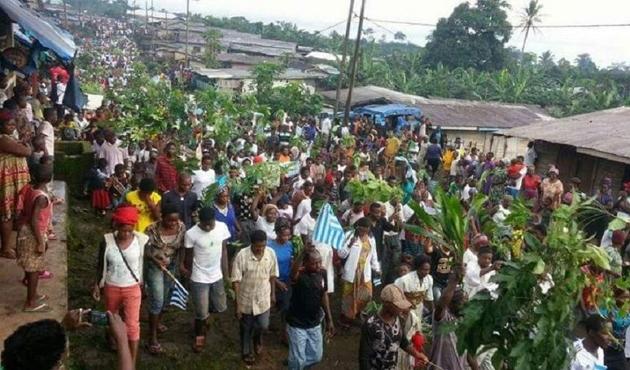 Çatışmalardan kaçan Kamerunlular Nijerya'ya sığındı