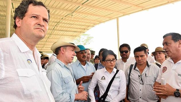 Kolombiya'da hükümet ve FARC liderleri bir araya gelecek