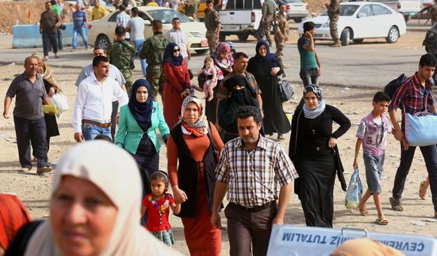 Irak'ta sığınmacıların yüzde 55'i hala evlerine dönemedi