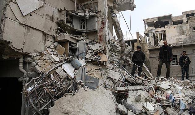 Rus destekli Esad rejimi Doğu Guta'ya saldırılarını arttırdı