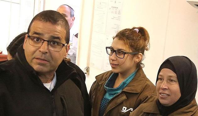 Filistinli Ahed et-Temimi'nin kuzeni Nur serbest bırakıldı