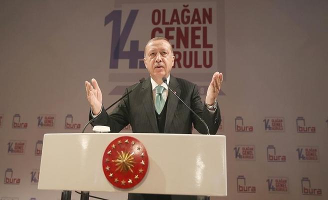 Erdoğan, Boğaziçi Üniversitesi'nde genel kurula katıldı