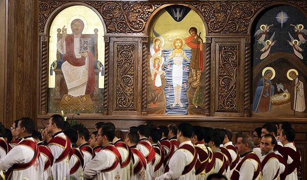 Ortadoğunun en büyük Ortodoks katedrali Kahire'de