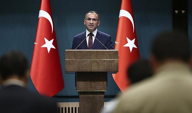 Başbakan Yardımcısı Bekir Bozdağ'dan 'OHAL' açıklaması