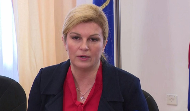 Hırvatistan Cumhurbaşkanı Kitarovic, Türkiye'ye gelecek