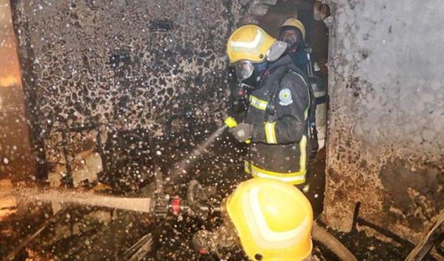 Mekke'de yangın: 5 ölü