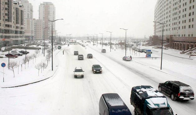 Astana'da acil durum ilan edildi