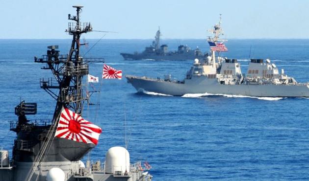 Çin savaş gemileri Japonya ile ihtilaflı sulara girdi