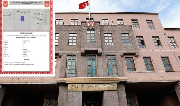 Milli Savunma Bakanlığı'ndan 'Erdoğan' açıklaması