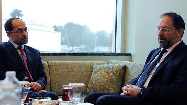 Erbaş, Amerikan İslam İlişkileri Başkanı ile görüştü