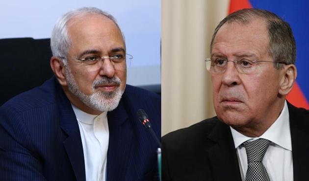Zarif ve Lavrov Suriye'yi görüştü