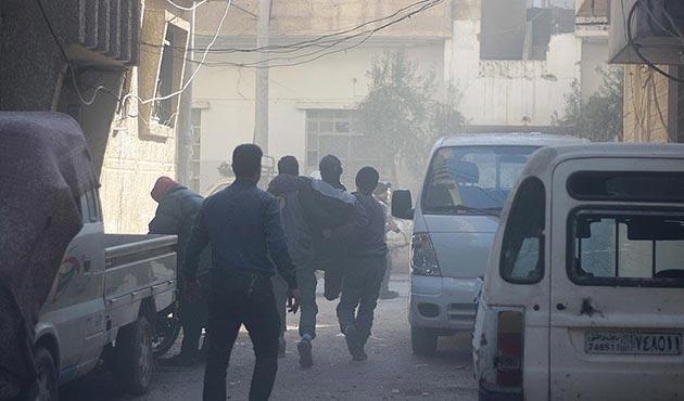 Esad rejiminden Doğu Guta'ya klor gazıyla saldırı