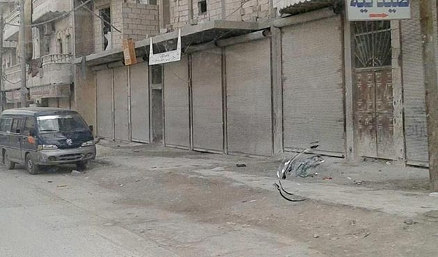 Münbiç'te PYD/PKK'ya karşı 'kepenk kapatma' çağrısı