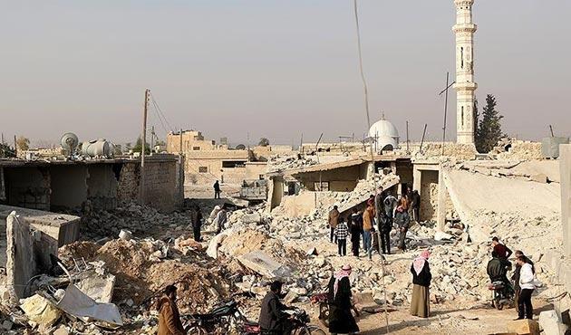 İdlib'deki hava saldırılarında 14 sivil hayatını kaybetti