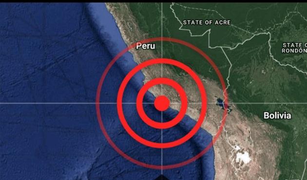 Peru'da şiddetli depremden sonra tsunami uyarısı verildi