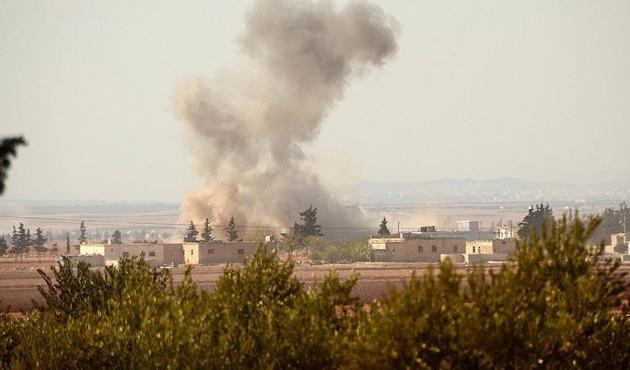 PYD'den Azez'deki sivillere roketli saldırı