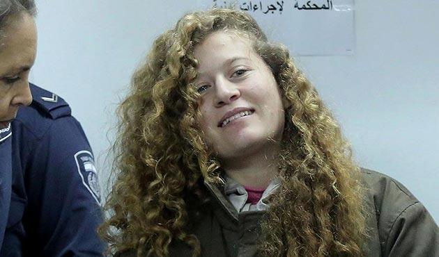 İsrail, Ahed et-Temimi'in tutukluluk süresini beşinci kez uzattı