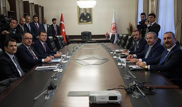 AK Parti-MHP ittifak komisyonunun ilk toplantısı son erdi