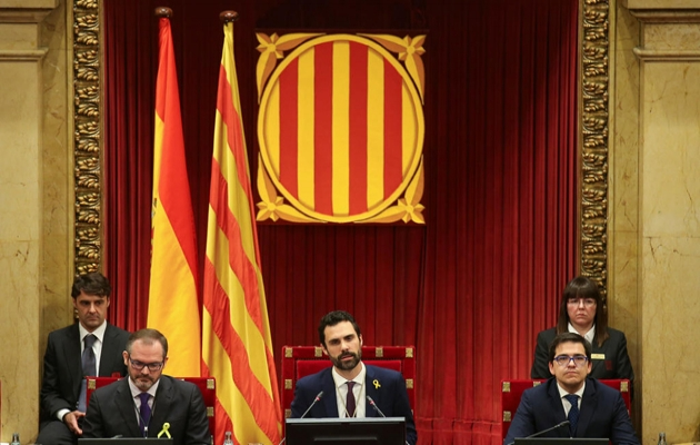Katalonya Parlamentosu'nun yeni başkanı ayrılıkçı Torrent oldu