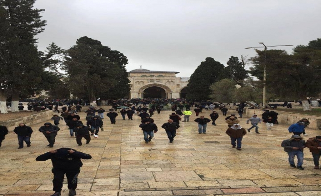 Ramazanda Mescid-i Aksa'ya 3 milyon kişiden ziyaret
