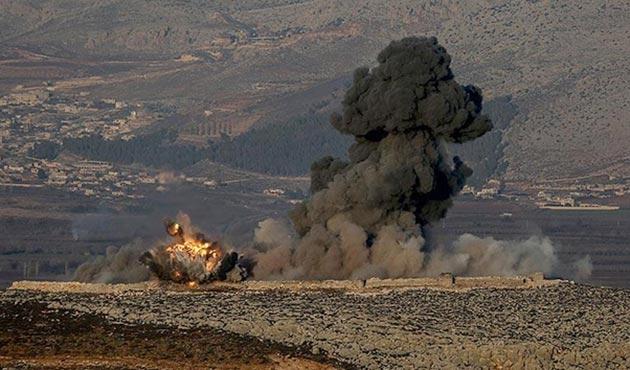 Afrin'e 'Zeytin Dalı Harekatı' başladı