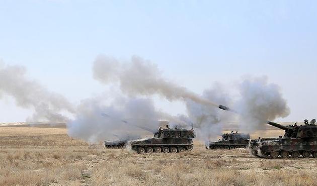 PKK'nın Afrin'den açtığı taciz ateşlerine karşılık verildi