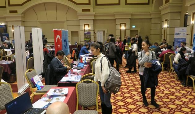Kazakistan'da Uluslararası Eğitim Fuarı