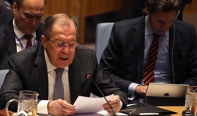 Lavrov, Rus askerlerinin Afrin'den çekildiğini yalanladı