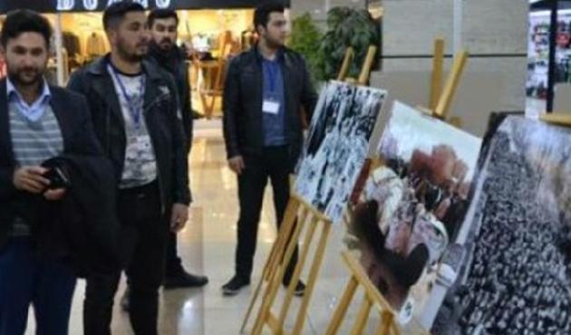 Yenikapı'da 'Kanlı Ocak' fotoğraf sergisi açıldı