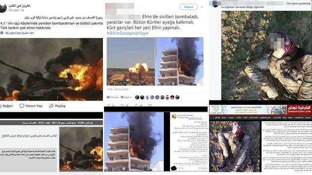 Sosyal medyada Zeytin Dalı Harekatı'na kara propaganda